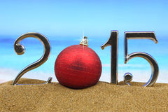 Jaar 2015 aantallen Stock Fotografie