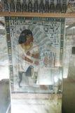 1500 jaar BC Oude Egyptische Graven stock foto's