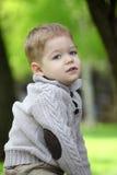 In 2 jaar het oude babyjongen stellen Royalty-vrije Stock Foto's