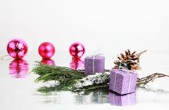 JAAR Joyeux Noel Royalty-vrije Stock Foto's