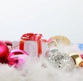 JAAR Joyeux Noel Royalty-vrije Stock Foto