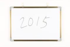 Jaar nummer 2015 Stock Foto's