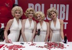 100 jaar van Coca-colafles Royalty-vrije Stock Foto