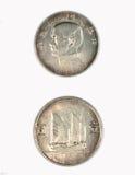 23 jaar van de republiek van de zilveren MUNTSTUKKEN van China Stock Foto's