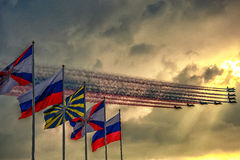 100 jaar van de Russische Luchtmacht Stock Afbeelding