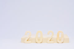 2020 jaar van de Toekomst royalty-vrije stock foto