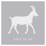 Jaar van Goat8 Stock Foto's