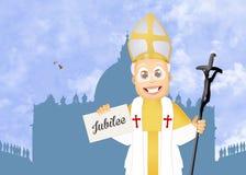 Jaar van Jubileum stock illustratie