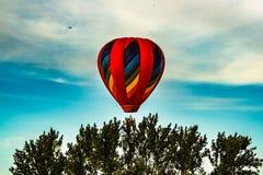 Jaarlijks ballonfestival in Sussex, New Brunswick, Canada stock afbeelding