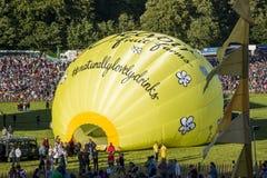 Jaarlijks Bristol Balloon Fiesta Stock Foto's
