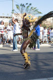 Jaarlijks Carnaval in het kapitaal in Kaapverdië, Praia. Stock Foto