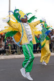 Jaarlijks Carnaval in Kaapverdië 2011 Stock Foto's