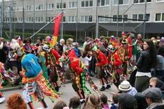 Jaarlijks cultureel festival in Hammarkullen, Gothenburg, Zweden royalty-vrije stock foto's