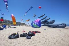 Jaarlijks Vlieger het Vliegen Festival royalty-vrije stock foto