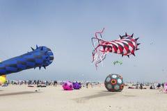 Jaarlijks Vlieger het Vliegen Festival royalty-vrije stock foto's