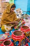Jaarlijkse Ambachtengebeurtenis in India Royalty-vrije Stock Foto