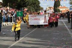 Jaarlijkse Carnaval-Optocht. Royalty-vrije Stock Foto's