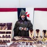 Jaarlijkse middeleeuwse markt in Orihuela spanje royalty-vrije stock foto