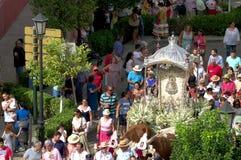 Jaarlijkse viering van het Patroonheilige in Carmona 30 Stock Fotografie