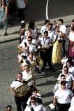 Jaarlijkse viering van het Patroonheilige in Carmona 31 Stock Fotografie