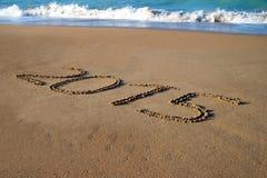 Jaarwisseling 2014 tot 2015 Royalty-vrije Stock Foto's