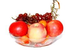 Jabłczany winogrono obrazy royalty free