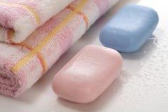 Jabón Imagen de archivo libre de regalías
