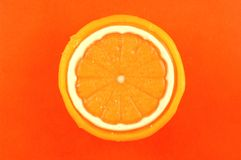 Jabón anaranjado Fotos de archivo