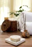 Jabón de baño fotografía de archivo libre de regalías