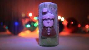 Jabón de Cristmas almacen de metraje de vídeo