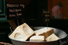Jabón de la especialidad de Francia Foto de archivo libre de regalías