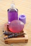 Jabón de la glicerina Fotografía de archivo libre de regalías