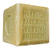 Jabón de Marsella Fotos de archivo