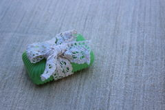 Jabón de retrete orgánico Fotos de archivo