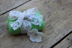 Jabón de retrete orgánico Fotografía de archivo libre de regalías