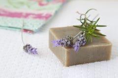 Jabón hecho en casa Foto de archivo