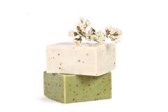 Jabón hecho a mano Foto de archivo