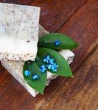 Jabón hecho a mano foto de archivo libre de regalías