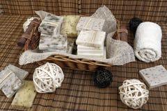Jabón hecho a mano Imagen de archivo
