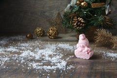 Jabón hecho a mano como regalo Foto de archivo libre de regalías