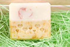 Jabón hecho a mano exquisito foto de archivo libre de regalías