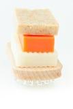 Jabón hecho a mano natural para el balneario Imágenes de archivo libres de regalías