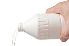 Jabón líquido de colada Foto de archivo libre de regalías