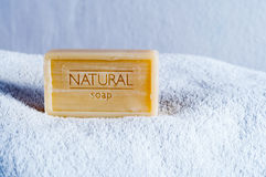 Jabón natural Fotos de archivo libres de regalías