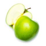 jabłczana świeża zieleń obraz stock