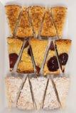 jabłczana crumble dokrętki śliwka Obraz Royalty Free