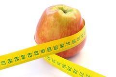 Jabłczana dieta obraz stock