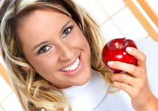 jabłczana dieta Zdjęcie Royalty Free