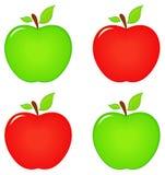 Jabłczana ikona ilustracja wektor