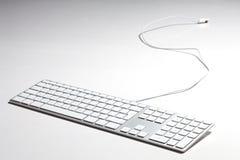 jabłczana klawiatura zdjęcie stock